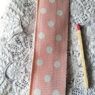 Sangle coton 2,5cm, 25mm