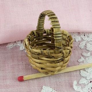 Bamboo round basket...