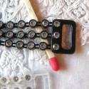 Rhinestone Strap Strung pastes fastener
