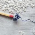 Fil métal gainé bijouterie, perles 0,45 mm.