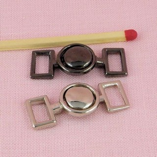 Circle toggle claps jewelry closure 3 cms
