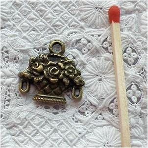Breloque Panier coupe fleurs miniature