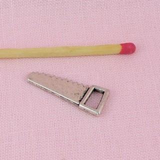 Säge Miniaturmetall Miniaturwerkzeuge Anhängerpuppe,