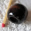 Perle bois macramé bijoux 20 mm.