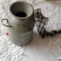 Pot laiterie miniature poupée ferme 6 cm