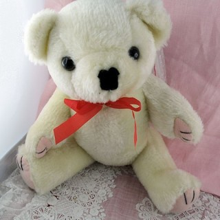 Mohair Bear jointed  27 cms