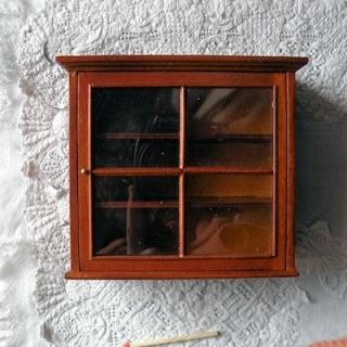 Bibliothèque bois, 16cm x 8cm