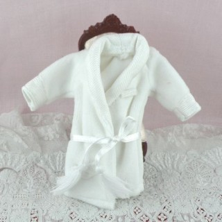 Miniature doll dressing gown doll house 1 / 12eme
