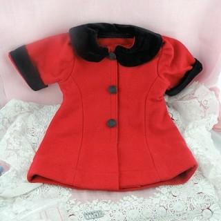Mantel und Hut Miniatur Puppe 1/12. Haus