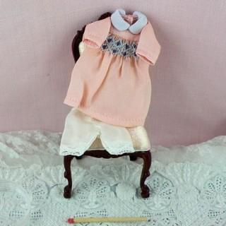 Smokes miniatura Vestido de la casa de muñecas 1/12EME