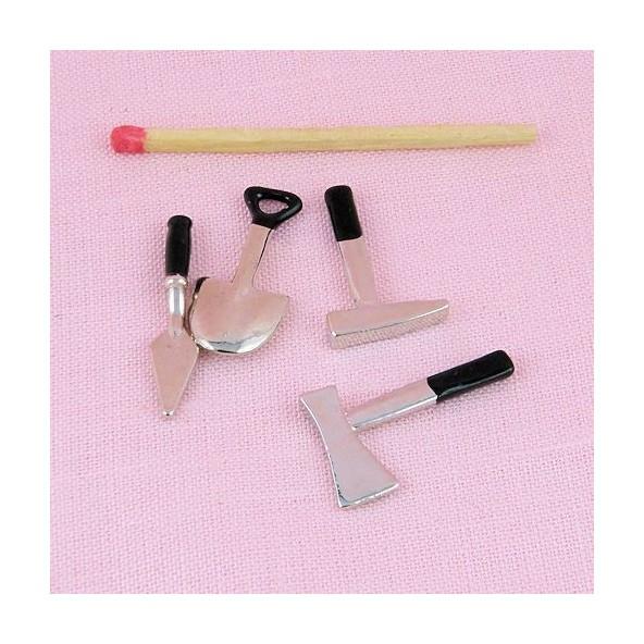 Metal gardening tools