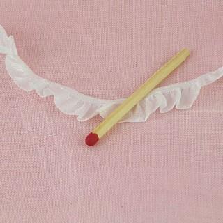 Flounced ribbon wrinkled rustle 11 mms