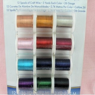 Metallic thread for jewelry making, beads, 0,4 mm
