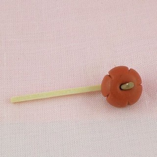 Halloween pumkin miniature for doll,