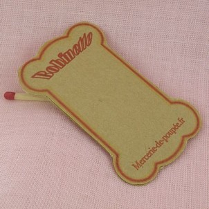 Floss bobbins Reel card for thread 7 cms