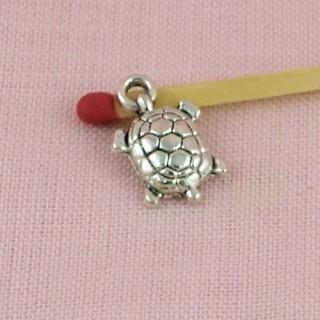 Tortoise bracelet charms, Pendant animal 15 mms