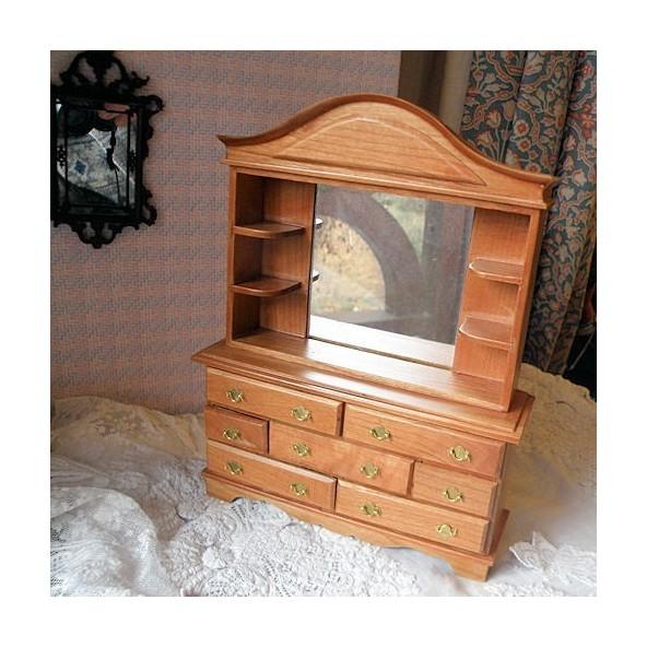 Meuble Presentoir Miniature Maison Poupee 1 12