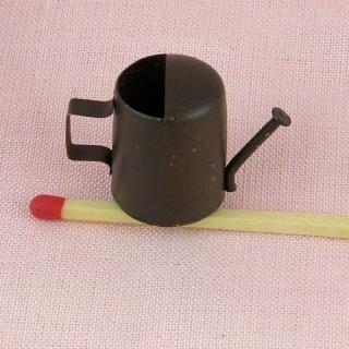 Metal rust tin watering can...