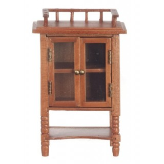 Jefferson cabinet walnut miniature doll house furniture