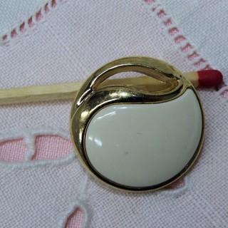 Vergoldeter Knopf Hautecouture zu Fuß zwei Größen