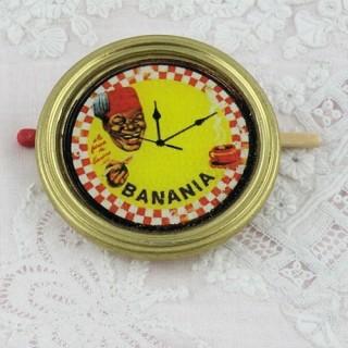 Péndulo miniatura Banania retro