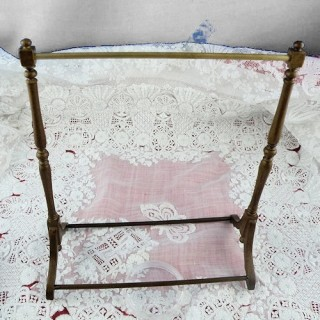Wooden clothes stand...