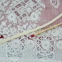 Lace cotton ribbon, flat tape doll underwear 4 mm.