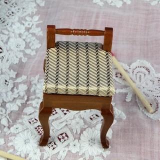 Miniature chair dollhouse...