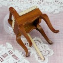 Miniature chair dollhouse sewing room 5 cms