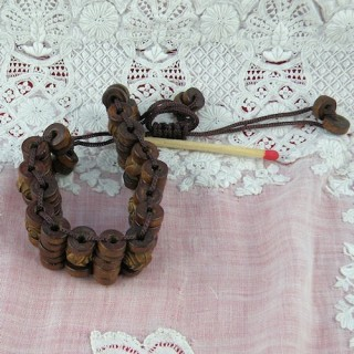 Natural wood bracelet first price