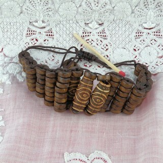 Natural wood bracelet first price