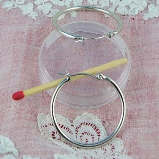 Criollos Cierres orejas anillos a cierre 20 mm.