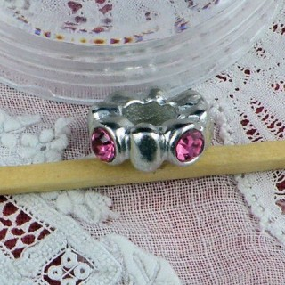 Large hole glass beads 11 mms.