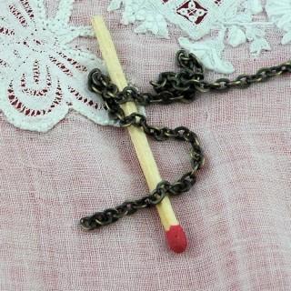 Cadena de joyería por el medidor