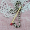 Key metal chain jewelry making 15 cms