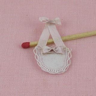 Bolso miniatura casa muñeca 2 cm