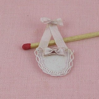 Hand bag miniature for dollhouse 2 cms