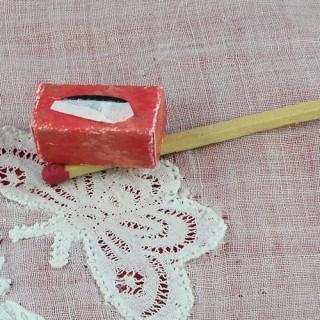 Cojea Kleenex miniatura casa muñeca 1/12