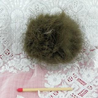 Gros Pompon boule fourrure véritable 5 cm