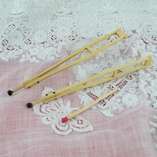 miniature dollhouse crutches