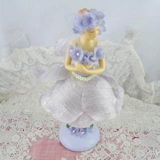 Statuette résine danseuse fée 18 cm