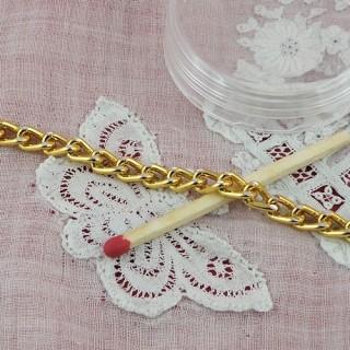 Cadena de joyería metálica de 4 mm por metro