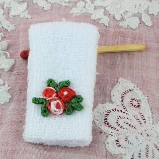 Handtücher schöpfen Miniaturtoilette ab Puppenhaus,