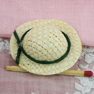 Hat miniature for doll house