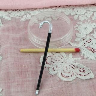 Chapeau paille, diamètre 2,8 cm.