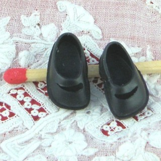 Paar Miniatur Kinderschuhe Puppe 1/12 17 mm