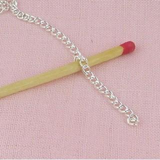 Cadenas de joyería de cadena plana por el medidor
