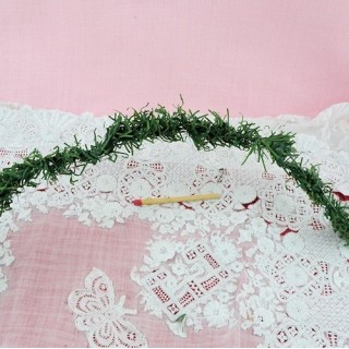Doll house miniature Chritmas garland