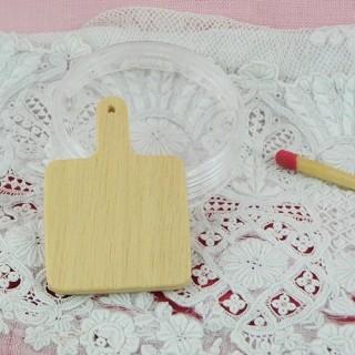 Tabla de corte de casa de muñecas en miniatura
