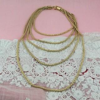 Chaine maille serpent fermoir fabrication bijoux